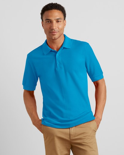Playera Tipo Polo Adulto <a> Código: 82800